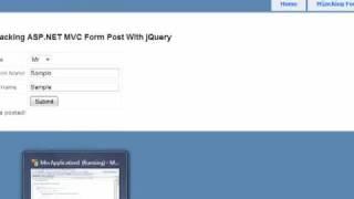 getlinkyoutube.com-Hijack ASP.NET MVC Form Posts Using jQuery.mp4