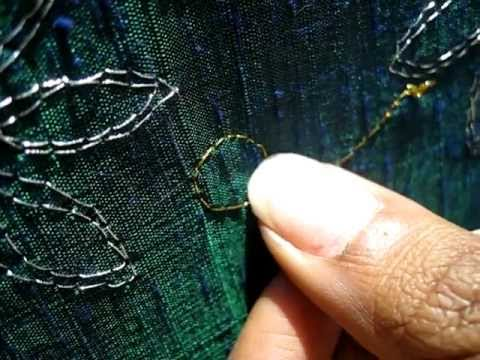 zardosi stitch tutorial