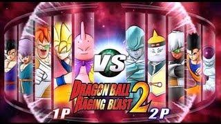 getlinkyoutube.com-Dragon Ball Z Raging Blast 2 - Random Characters (Live Commentary)