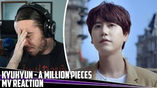 Kyuhyun(규현) - A Million Pieces(밀리언조각) | MV Reaction