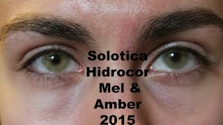 getlinkyoutube.com-Solotica Hidrocor Amber & Mel - 2016
