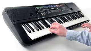getlinkyoutube.com-PSR-E253 Digital keyboard Overview