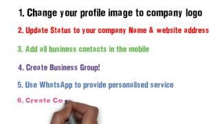 getlinkyoutube.com-Whatsapp Marketing  for Business