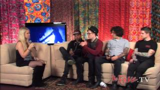 getlinkyoutube.com-Fall Out Boy Backstage Interview May 14, 2013