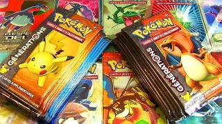 getlinkyoutube.com-Ouverture de 16 Boosters Pokémon GENERATIONS Français ! EX ET FULL ART INVASION !