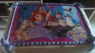 getlinkyoutube.com-bolo e capcakes princesa sofia