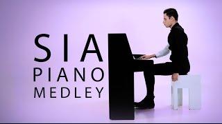 getlinkyoutube.com-Sia Medley (Piano Cover) - Peter Bence