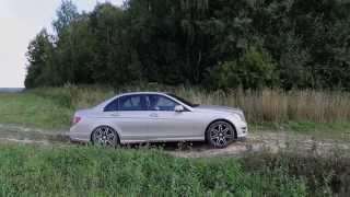 getlinkyoutube.com-Mercedes C-Class W204 Offroad test