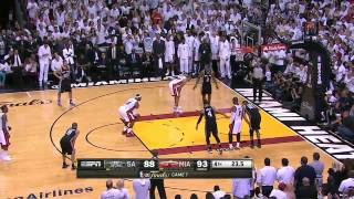 getlinkyoutube.com-NBA Finals 2013: Game 7, Final minute