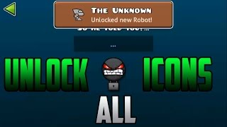 getlinkyoutube.com-Geometry Dash [2.0] |Secret Room|  How To Unlock All Secrets Icons