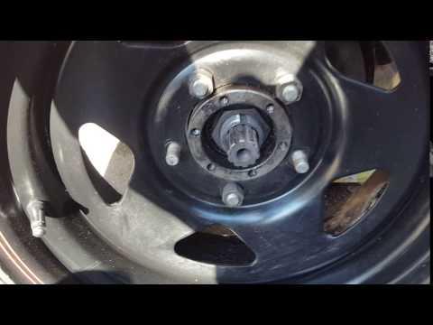 Расположение подшипника передней ступицы в УАЗ Буханка