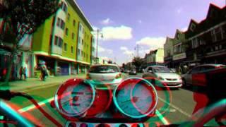 getlinkyoutube.com-GoPro 3D System Review - Crazy Lane Splitting/Filtering UK