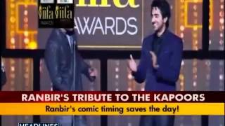 getlinkyoutube.com-Ranbir mimics cousin Kareena at IIFA