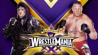 getlinkyoutube.com-The Undertaker vs Brock Lesnar Wrestlemania 30 Promo HD