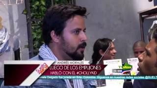 getlinkyoutube.com-Suelta el Wichi- Andres Morales empujó al chollykid en un evento