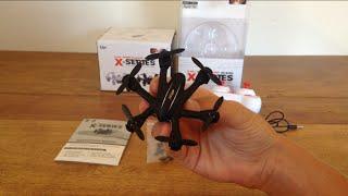 getlinkyoutube.com-MJX X901 Review and Flight, Worlds Smallest Hexacopter!