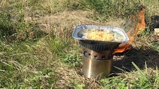 getlinkyoutube.com-ソロストーブ(solo stove)で鍋焼きうどん