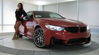 getlinkyoutube.com-New BMW M4 Sakhir Orange ll Metallic / M Competition Package / Exhaust Sound / 444 HP / BMW Review