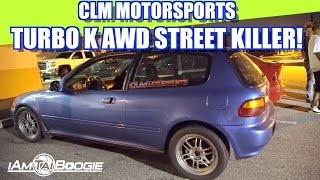 getlinkyoutube.com-AWD TURBO CIVIC STREET KILLER BEATING GTR MUSTANG PORSCHE HIGHWAY