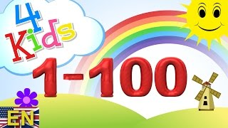 getlinkyoutube.com-Numbers counting 1-100 Learning Video for children. Counting one to onehundred (english)
