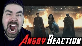 getlinkyoutube.com-BvS Trailer #2 ANGRY RANT Reaction!