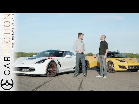 Corvette Grand Sport and Lotus Evora 400