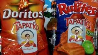getlinkyoutube.com-Doritos Tapatío -VS- Ruffles Tapatío Snack Review