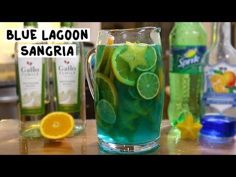 Tipsy Bartender – Blue Lagoon Sangria