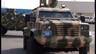 getlinkyoutube.com-IAG International Armoured Group Jaws Guardian 4x4 APC armoured personnel carrier DSEI 2015 London U