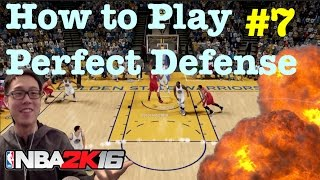 getlinkyoutube.com-Perfect Defense NBA 2K16 Tips : How to play NBA 2K16 defense : Tutorial #59