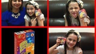 getlinkyoutube.com-Desafio Jelly Belly - Bean Boozled Challenge - com minha Avó Julia Silva