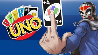 UNO - Rule 7-0 Full Match! First to 200 Points! (Hand Swap!)