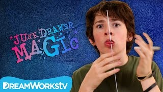 getlinkyoutube.com-Skewer Through Tongue Trick | JUNK DRAWER MAGIC