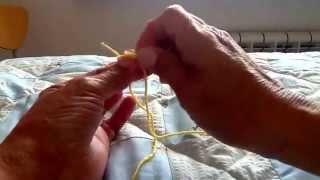Nodo invisibile per unire due fili