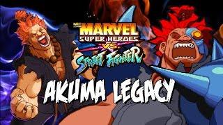 getlinkyoutube.com-THE CRAZIEST AKUMA - Akuma Legacy: Marvel Super Heroes Vs. Street Fighter