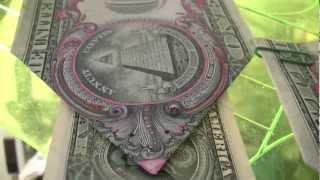 getlinkyoutube.com-$1DOLLAR BILL SECRET Fazi Gami Origami Yale SKULL &BONES 322 & $10,000 says UCant Prove Me Wrong