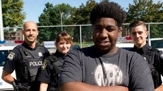 Teenage hero saves woman from kidnapping width=