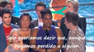 getlinkyoutube.com-Teen Choice Awards 2013 - Glee Cast y Lea Michele (subtitulado)