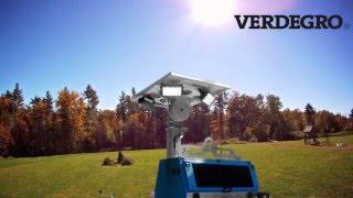 Verdegro LED Light Tower Trailer Hybrid ( LLTT-H )
