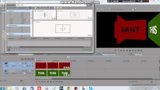 Sony Vegas Pro - TUTORIAL - 3D Cube