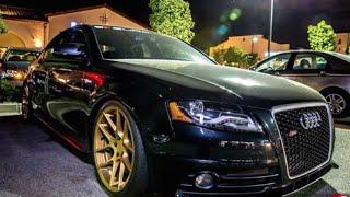 getlinkyoutube.com-Modified B8 Audi S4 -  One Take