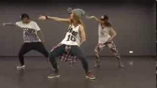 "getlinkyoutube.com-@AgnezMo ft. Timbaland & T I - ""Coke Bottle"" Choreographed by @Gin_Lam and friends"