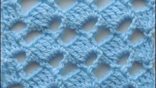 getlinkyoutube.com-Crochet: Punto Escalera # 5