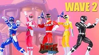 getlinkyoutube.com-Mighty Morphin! In Space! Wave 2 Legacy Power Rangers 6.5 inch Figures!