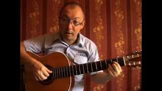 Два вида перебора на гитаре