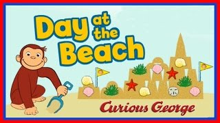 getlinkyoutube.com-♡ Curious George - Day at the Beach Creative PBS Video Game For Kids