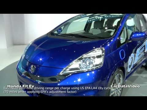 Honda Fit EV Battery Electric Vehicle Video Snapshot