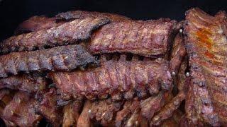 getlinkyoutube.com-Werthers Echte BBQ Spare Ribs vom Smoker --- Klaus grillt