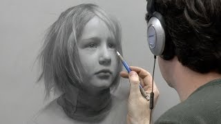 "getlinkyoutube.com-""Static"" – Portrait Drawing of a Child, Part 5 of 5"