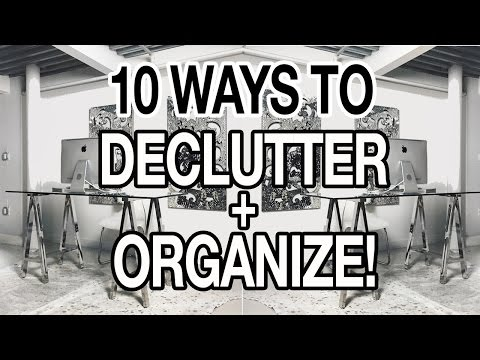 0 Organization Videos: How To Declutter Your Home Tips